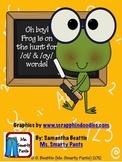 Froggy Hunt Phonics oi oy Game