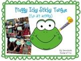 Froggy Icky Sticky Tongue