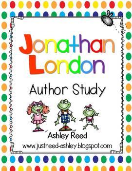 Froggy { Jonathan London } Author Study