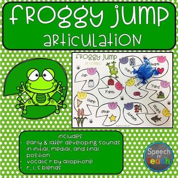 Froggy Jump Articulation