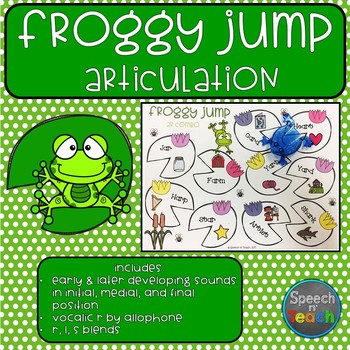 Froggy Jump Articulation