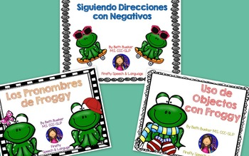 Froggy Language Bundle - Spanish