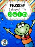 Froggy Learns To Swim {5 Literacy Centers}