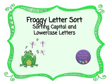 Froggy Letter Sort