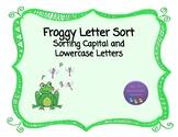 Froggy Letter Sort