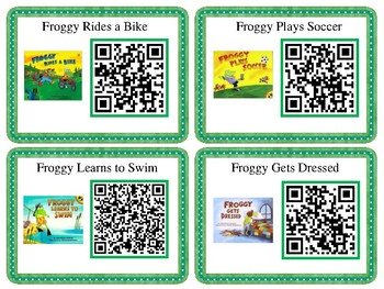 Froggy Listening Center with QR Codes