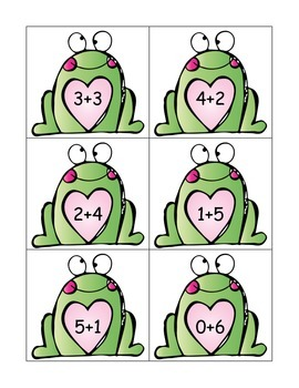 Froggy Loves Addition: Sorting Equations