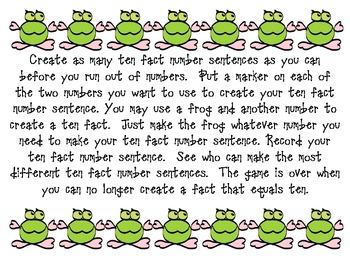 Froggy Makes a Ten