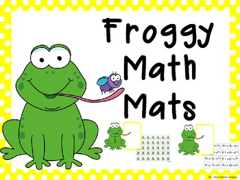 Froggy Math Mats