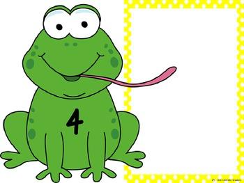 Froggy Math Mats