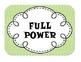 Multi Themed Power Behavior Chart (Frog, Chevron, Polka Dots, and more!)