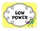 Multi Themed Power Behavior Chart (Frog, Chevron, Polka Do
