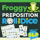 Prepositions: Roll the Dice Game/Activity
