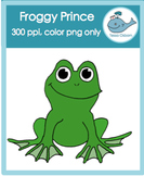 Froggy Prince {Summer} Clipart