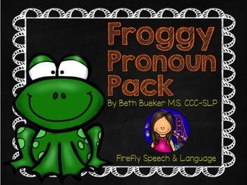Froggy Pronoun Pack