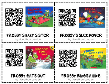 Froggy QR Code Read Alouds