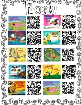 Froggy QR Codes and Writing Extensions