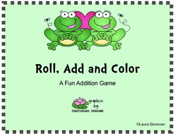 Froggy Roll, Add and Color