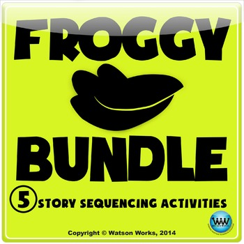Froggy Sequencing Activities ~ BUNDLE