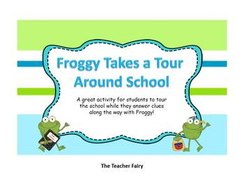 Froggy Takes a Tour of the School