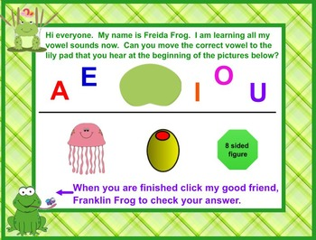 Froggy Went A Courtin' A Lesson In Short Vowel Sounds