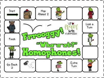 "Froggy! - ""Wha-a-at?"" HOMOPHONES!"