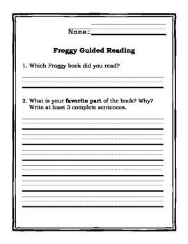 Froggy and Mr. Putter and Tabby Pack--FREE!