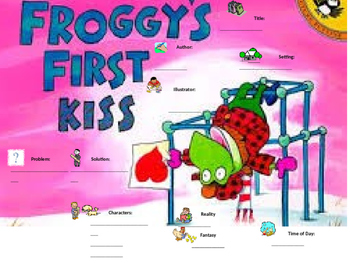 Froggy's First Kiss Graphic Organizer