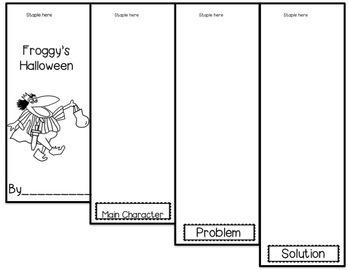 Froggy's Halloween Mini Flip Book Patterns