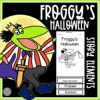 Froggy's Halloween FOLDABLES-Graphic Organizers