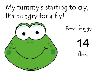 Froggy's Hungry: Counting Game