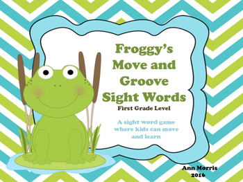 Froggy's Move and Groove Sight Word Game
