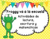 Froggy va a la escuela - Actividades complementarias al cuento en Español