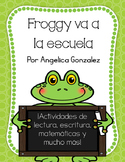 Froggy va a la escuela (Froggy Goes to School SPANISH)