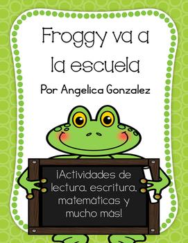 Froggy va a la escuela (Froggy Goes to School SPANISH)