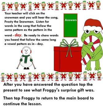 Froggy's Christmas Phonics Fun