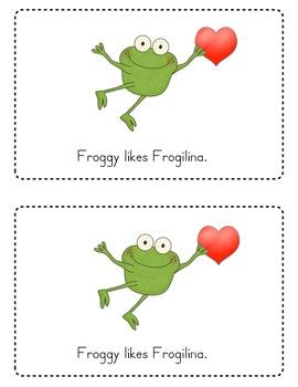 Froggy's First Kiss Emergent Reader