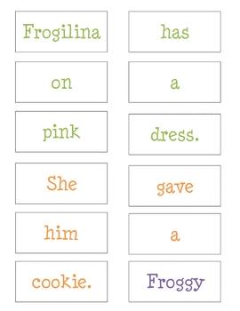 Froggy's First Kiss Mini Unit- Literacy, Reading, Language