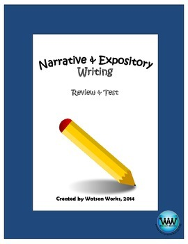 Narrative & Expository Study Guide & Test