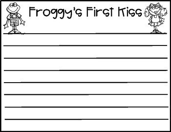 Froggy's First Kiss- Craft and Writing