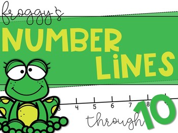 Froggy's Number Line: Addition & Subtraction Practice Through 10