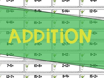 Froggy's Number Line: Addition & Subtraction Practice Through 20