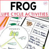 Frog Life Cycle Wheel and Cut and Paste Activities
