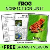 Nonfiction Unit - Frog Activities