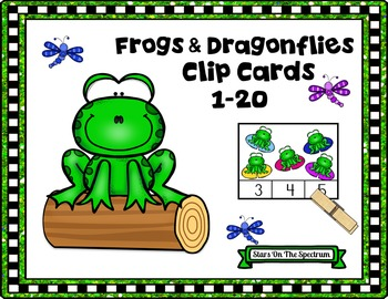 Counting 1-20 (Clip Cards)