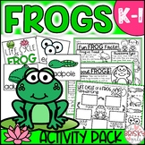 Frogs Unit (Take Home Packet) Distance Learning