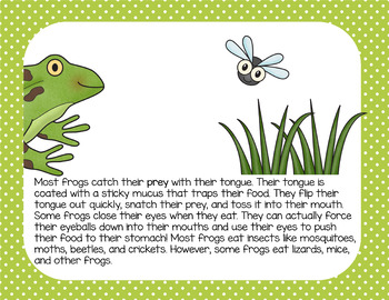 Frogs: A Nonfiction Text, Activities, and Assessment