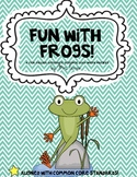 Frogs ( A fun filled Frog Science Packet!)