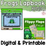 Frogs Activities Interactive Notebook Digital and Printabl