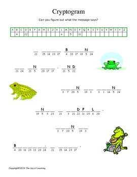 Frogs Activity Fun